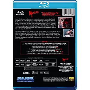 Maniac [Blu-ray] [Import anglais]