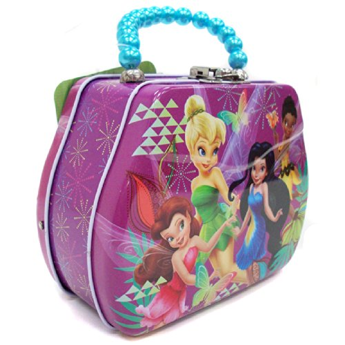 "Disney Tinker Bell Tin Hand Bag -5""*4"" - 1"