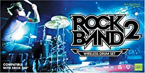 Rock Band 2 Wireless Drum Set - Xbox 360