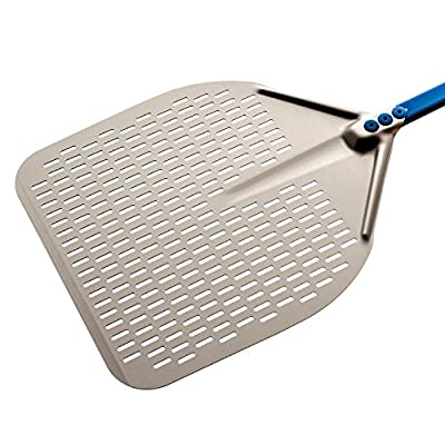 13-inch Rectangular Perforated Pizza Peel - 23-inch Handle