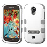 Product B00S7FQSUG - Product title MyBat SAMSUNG T399 (Galaxy Light) TUFF Hybrid Phone Protector Cover with Stand - Retail Packaging - Natural Cream White/Iron Gray