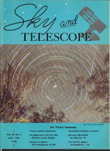 Sky & Telescope Mariner 10 Mercury Henbury Craters Australia Esa ++ 5 1975