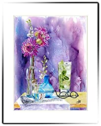 Rainbow Card Company LP220TC Large Matted Print - A Tall Cool One,