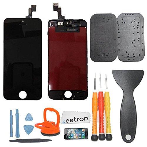 Iphone 5S (At&T/Verizon/Sprint) Premium Screen Replacement & Repair Kit - Black