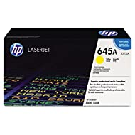 HP C9732A (HP-645A) Toner, 12000 Page-Yield, Yellow
