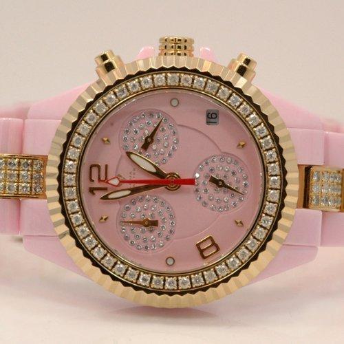 6fe00b7bf Aqua Master Ladies Ceramic Diamond Watch 3 00ctw W1154 ...