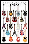 Guitar Heaven Music Poster Print 24 by 36-Inch
