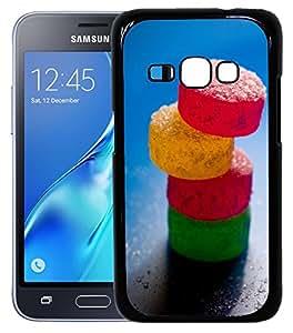FCS Printed 2D Designer Hard Back Case For Samsung Galaxy J1(2016) -10011