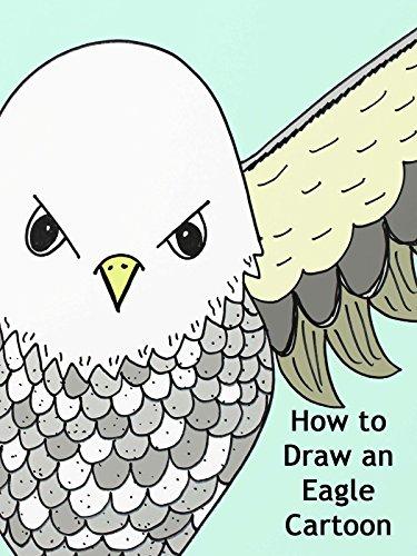 How to Draw an Eagle Cartoon
