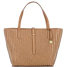 All Day Tote<br>Tobacco Woven Luxe