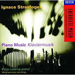 Strasfogel: Piano Sonata No.2 (1926) - 3e. Variation 4 Canone all'ottava