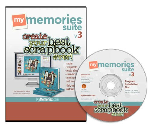 MyMemories Suite 3.0 Digital Scrapbooking Software [OLD VERSION][DVD-ROM] Mac