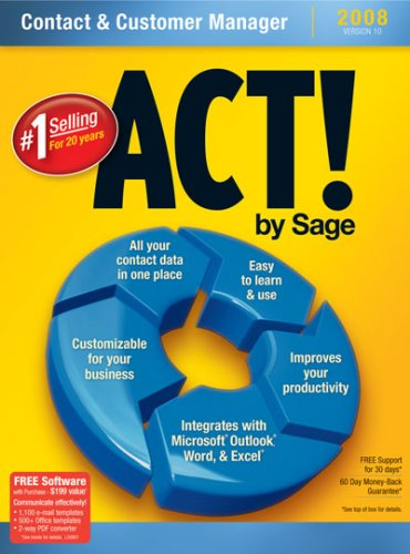 Act! By Sage 2008 10.0 [Old Version]
