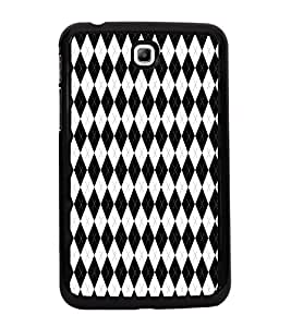 ifasho Designer Phone Back Case Cover Samsung Galaxy Tab 3 (7.0 Inches) P3200 T210 T211 T215 LTE ( Colorful Pattern Design Prisma )