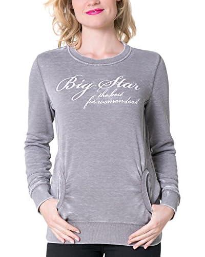 Big Star Sweatshirt  grau XS
