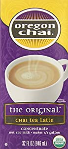 Oregon Chai Concentrate, Original, 32-Ounce Boxes (Pack of 6)