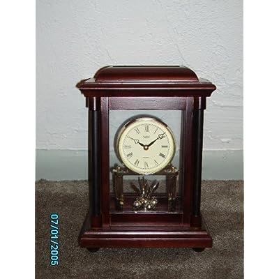 Amazon.com : Stiffel Mantel Clock with Rotating Pendulum