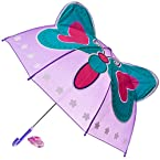 Butterflies™ Girl Purple Umbrella