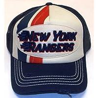 New York Rangers Trucker Mesh Back Reebok Hat - Osfa -NE75Z