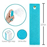 Ecran All In One Microfiber Screen Cleaning Tool for LED & LCD TV, Computer Monitor, Laptop, and iPad Screens - 100 Uses - Portable & Compact - Blue