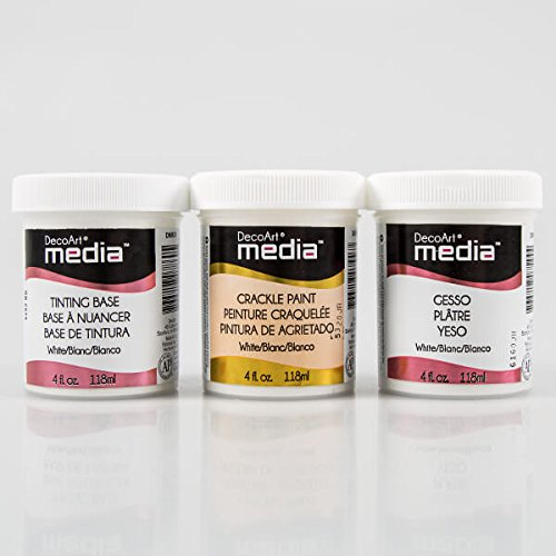 decoart-3-pack-of-white-media-mediums-tinting-base-crackle-paint-gesso