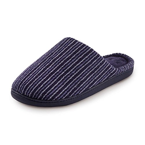 isotoner-stripe-pillowstep-mule-slippers-stripe-uk-size-11