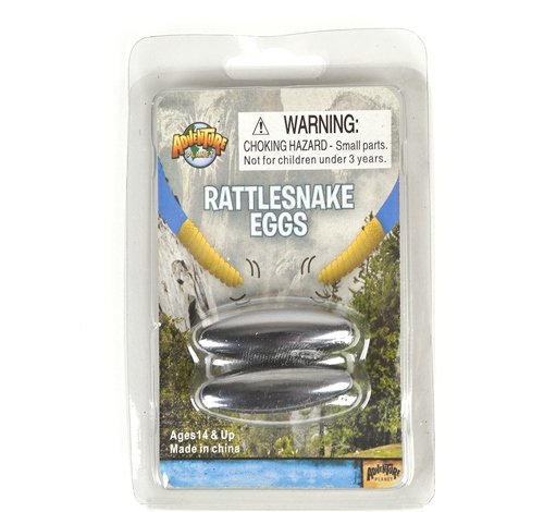 "1.75"" MAGNETIC RATTLE SNAKE EGGS, Case of 72"