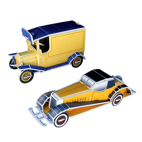 Jigsaw 3D Puzzle Transportation Series - Old Car/ Coupe