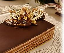 【25日出荷~となります】【クリスマスケーキ・オペラ 2010年】ショコラティーヌ(チョコレートケーキ)クリスマスケーキ予約承り中!パーティーやバースデーケーキにもどうぞ!クリスマス ケーキ神戸お取り寄せスイーツ
