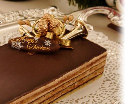 【午前10時締切(決済確定)⇒翌日出荷】【クリスマスケーキ・オペラ 2011年】ショコラティーヌ(チョコレートケーキ)クリスマスケーキ!パーティーやバースデーケーキにもどうぞ!クリスマス ケーキ神戸お取り寄せスイーツ