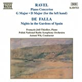 Falla: Nights in the Gardens of Spain / Ravel: Piano Concertos