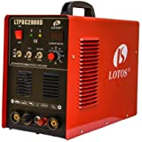 LTPDC2000D Lotos Pilot Arc 50A Plasma Cutter /200A Tig/Stick Welder with Stick Aluminum Feature