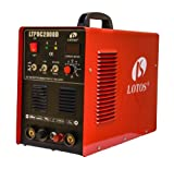 LTPDC2000D Lotos Pilot Arc IGBT 50A Plasma Cutter /200A Tig/Stick Welder with Stick Aluminum Feature