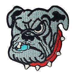 Georgia Bulldogs Logo Embroidered Iron Patches