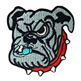 Georgia Bulldogs Logo Embroidered Iron Patches at Amazon.com