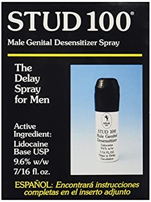 Stud 100 Male Genital Desensitizer Spray, 7/16- Fl. Ounce Box