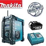 MAKITA BMR101 Job site DAB Digital Radio Plus BL1830 18.0V 3.0Ah Lithium-ion Battery Plus DC18RA 14.4-18V Lithium-ion Battery Charger 240V