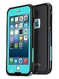 Easylife iPhone6 ケース アイフォン6ケース 防水カバー 手帳型 耐衝撃 耐震 (iphone6, ブルー)