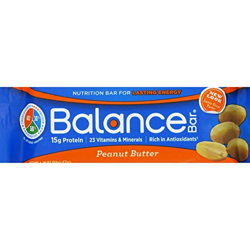 Balance Bar Complete Nutrition Energy Bar, Peanut Butter  - 15 Count (Balance Energy Bars compare prices)