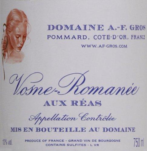 2009 Domaine A.-F. Gros Vosne-Romanee Aux Reas Burgundy Pinot Noir 750 Ml