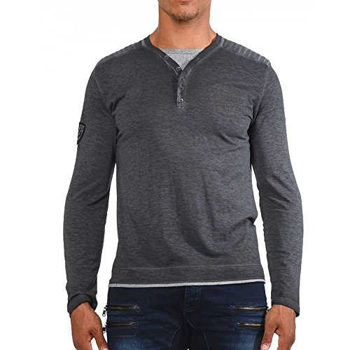 Kaporal Jeans - Kaporal Tshirt Basko Black - 2XL, nero
