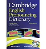 img - for Cambridge English Pronouncing Dictionary with CD-ROM (Mixed media product) - Common book / textbook / text book
