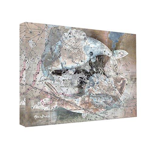 Ready2HangArt-Alexis-Bueno-Zodiac-Study-Pisces-Oversized-Canvas-Wall-Art