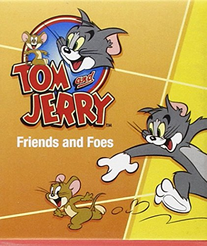 Tom and Jerry: Friends and Foes [With 2 Bendable Figurines] (Tom and Jerry: Mega Mini Kits)