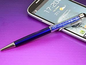 FBA - 2in1 Crystal Capacitive Touch Stylus/Ballpoint Pen for iPhone 5 iPad Mini