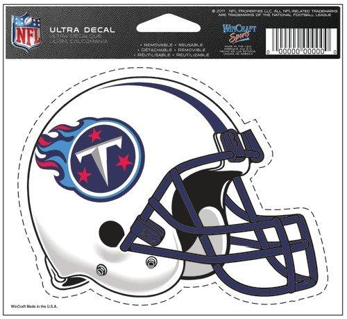 "Tennessee Titans Team Logo 5""x6"" NFL Helmet Decal"