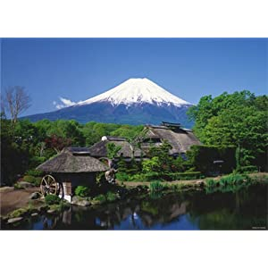 【クリックで詳細表示】四季の詩 3000スモールピース 富士山 -忍野より望む- (77cm×107cm、対応パネルNo.20-Y)