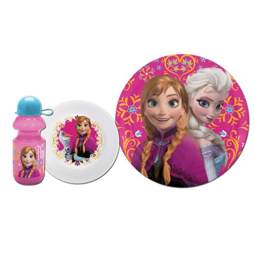 Disneys Frozen 3-piece Dinnerware Set - Plastic