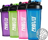 ProElite Mixball Protein Shaker Blender Bottle Water Mixer Cup 600ml - 700ml