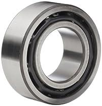 Timken 5202K Double Row Ball Bearing, No Snap Ring, Conrad-Type, Metric, 15 mm ID, 35 mm OD, 5/8
